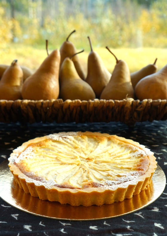 pear almond tart 2